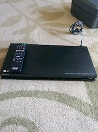 black Sony DVD player with remote Tulare, 93274