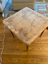 Solid Wood Table 23x23