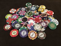 Ultimate Poker Chips Sample Set Ottawa