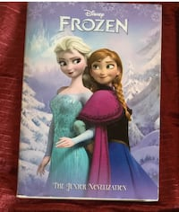 Frozen book- chapter book. Midland. Must pick up Midland, 79705