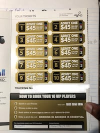 Selling 10 pack Paintball tickets $200 OBO - RETAIL $900 Toronto, M5B