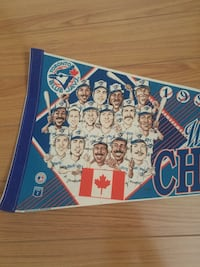 Toronto Blue Jays vintage World Series pennant 1992 mlb Toronto, M6N 5H6