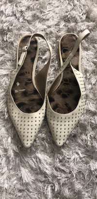 Sam Edelman white flats never been worn size 8  Surrey, V3W