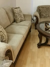 Brand new Ashley made value 3000 one sofa and too  Mississauga, L5R 3G7