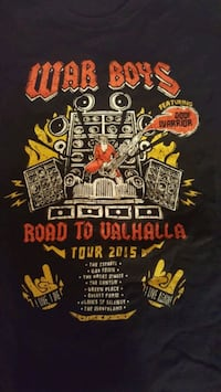 War Boys Tour T-Shirt Size M