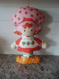 1980s Strawberry Shortcake Pillow Doll $10 PU Mori Morinville