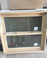 White clad double Hung window brand is Windsor pinnical  pine interior therma pane insulated glass  for 2x6 wall it cost over 600.00. Have two avail Torrington, 06790
