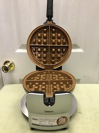 Bialetti copper titanium ceramic thick rotating Belgian waffle maker. Lexington Park, 20619