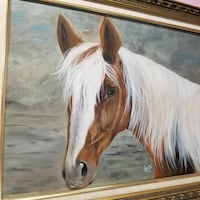 Majestic Horse 23x29inches . West Columbia, 29170