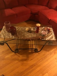 Bombay Glass coffee table  60 km