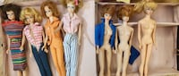 Vintage 1960's barbie dolls and clothes collection  Vancouver, V6M 3T6
