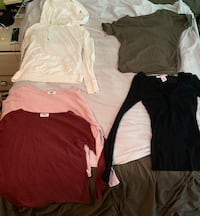 Lot of Woman's Shirts Tops Bottoms Pants Clothes Size Extra Small to Small Glenview, 60025