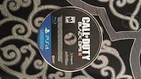 call of duty black ops III Sony ps4 game disc