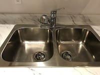 Sink for kitchen, included faucets  Mississauga, L4W 2E2