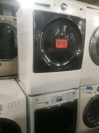 Kenmore elite front load washer and dryer set exce 46 mi
