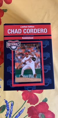 Vintage Limited Edition Washington Nationals Chad Cordero bobble head Washington, 20016