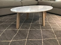 Marble Coffee table - brand new in box