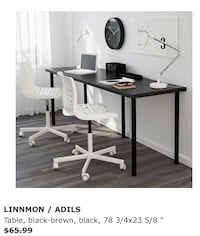 New. IKEA desk. Measurements on the picture Come get it.  San Diego, 92109