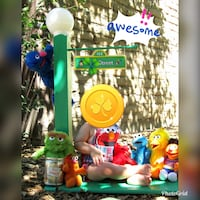 (6) Sesame Street Characters only
