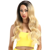 "28"" Wavy Blonde Ombre Lace Front Wig Winnipeg"