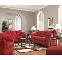 2 Red Sofas - Pull-out Beds -Amazing Condition -comfortable.  $450/ea.