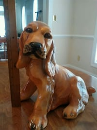 Large fireside ceramic dog 10 inch tall Talleyville, 19803