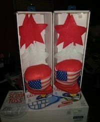 red-and-white American flag printed punching glove Knoxville, 37909