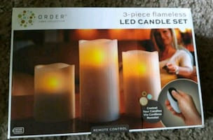 Candles in box new