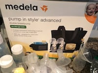 Medela Breast Pump Kit and LOT of Accessories Thousand Oaks, 91320