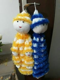 yellow and blue knitted doll decors Hacınabi Mahallesi, 55400