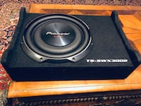 """***NEW*** Flat/Thin/Low profile 12"""" PIONEER Subwoofer enclosure"""