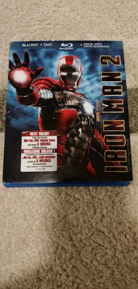 Marvels Iron Man 2 movie - Blu-Ray & DVD. Only $20.00 Brampton, L6P