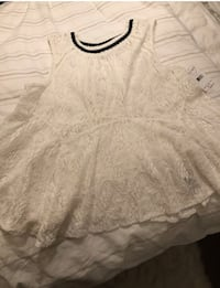 Free people lace peplum top Pickering, L1X 1W7