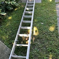 gray and red metal ladder Laurel, 20708