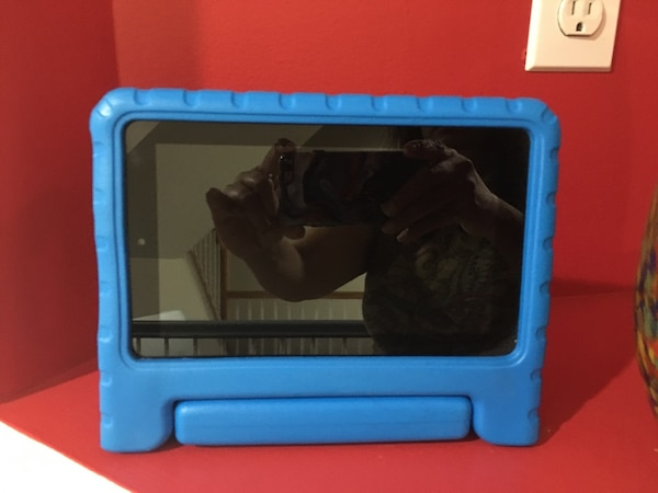 5th Generation Kindle Fire with case
