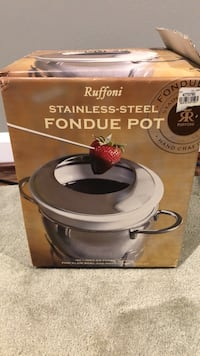 Brand New Stainless Steel Fondue Pot Rockville, 20853