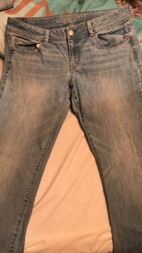 American eagle jeans size 14