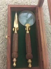 Antique letter opener and magnifying glass Alexandria, 22306