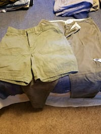 Size 12 hydraulic pants and faded glory shorts Colorado Springs, 80904