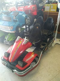 red and black motor scooter 1487 mi