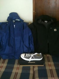 2 Jackets & 1 Pair of Converse!