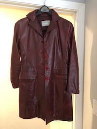 Brown leather button-up jacket Pleasant Hill, 94523