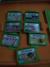 Leap frog games and case