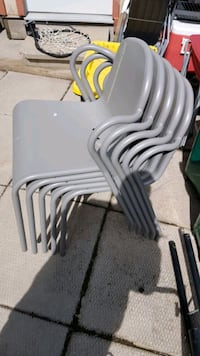 Set of Ikea chairs + table