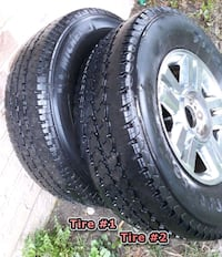 A set of four Rims with Tires Richmond Hill