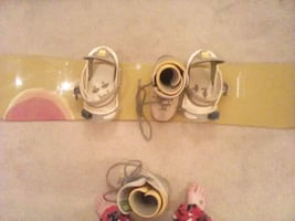 Burton snowboard, boots and bindings for sale.. good deal
