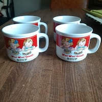Vintage Campbell Soup Mugs Huntington Station