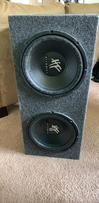 """Hifonics 12"""" subwoofer Stereo System"""