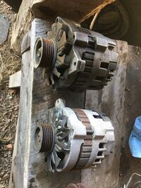 2 88-98 Chevy/gmc alternators. Used but dose work. Give me a offer Magnolia, 42757