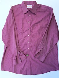 Roundtree & Yorke Gold Label Men's Long Sleeve Shirt Size 17 1/2 - 35 Baltimore, 21230